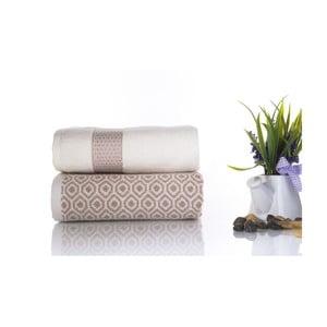 Zestaw 2 ręczników Alice V3, 50x90 cm