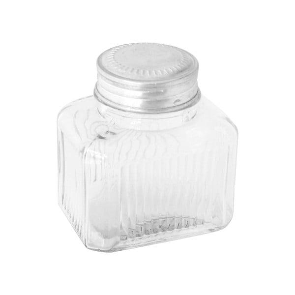 Szklany pojemnik Clear Jar, 13 cm
