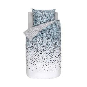 Niebiesko-biała wzorzysta pościel Esprit Dila, 140x200 cm