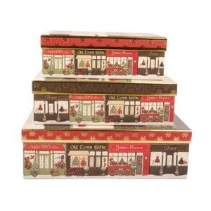 Zestaw 3 pudełek Old Town