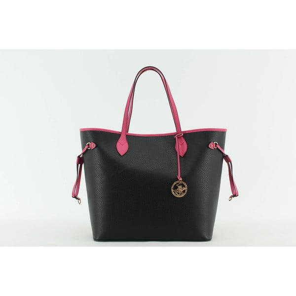 Torebka Beverly Hills Polo Club 444 - Black/Fuchsia