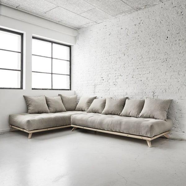 Sofa Senza Natural/Light Grey