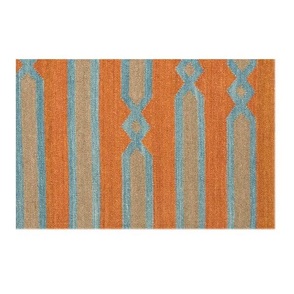 Wełniany dywan Kilim 838, 120x180 cm