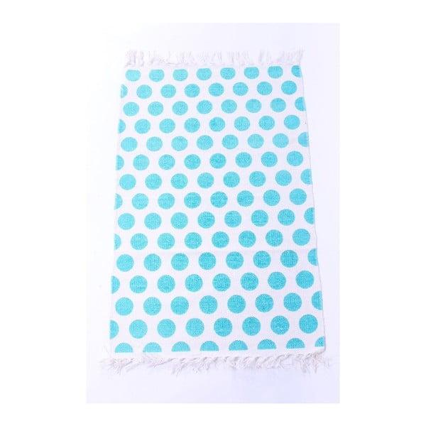 Dywan La Finesse Dots Blue, 60x90 cm