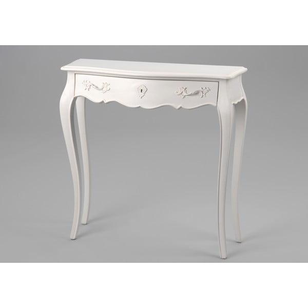Stół z szufladą Amadeus, 80x25 cm
