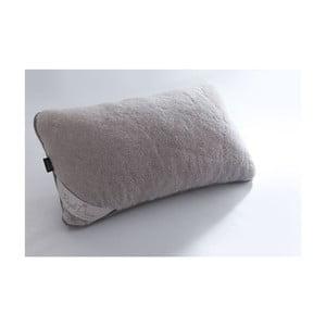 Szara poduszka wełniana Royal Dream Grey, 40x70 cm