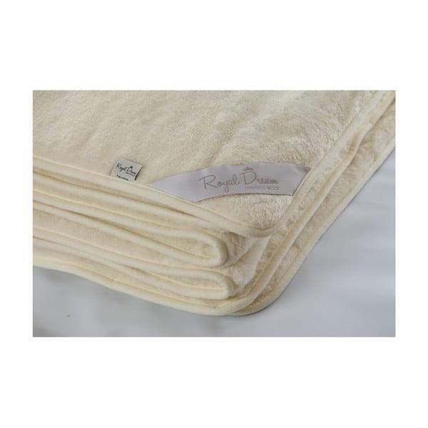 Koc   wełniany Royal Dream Cashmere, 200x200 cm
