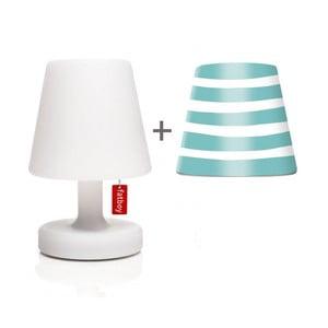 Lampa Fatboy Edison Petit, 25 cm + klosz Mr. Aqua