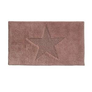 Różowy dywanik łazienkowy Kela Livana, 100x60cm