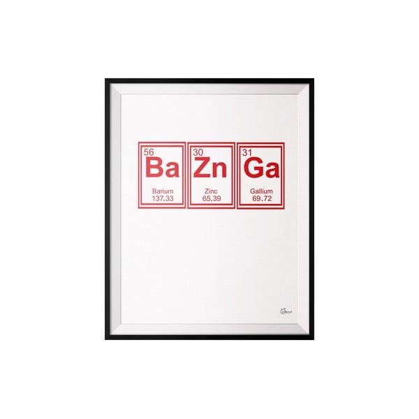 Plakat Bazinga, 50x70 cm