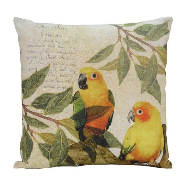 Poduszka Yellow Birds, 45x45 cm