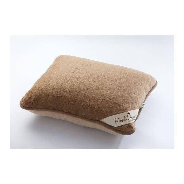 Poduszka z wełny merynosa Royal Dream Merino, 50x60 cm