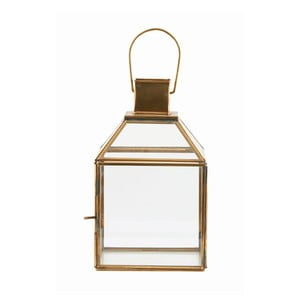 Lampion Base Brass, 26x15 cm