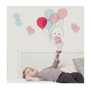Naklejka na ścianę Art For Kids Balloon Rabbit