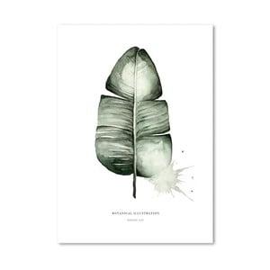 Plakat Leo La Douce Banana Leaf, 21x29,7cm