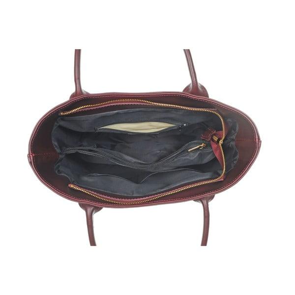 Skórzana torebka Yes Brown