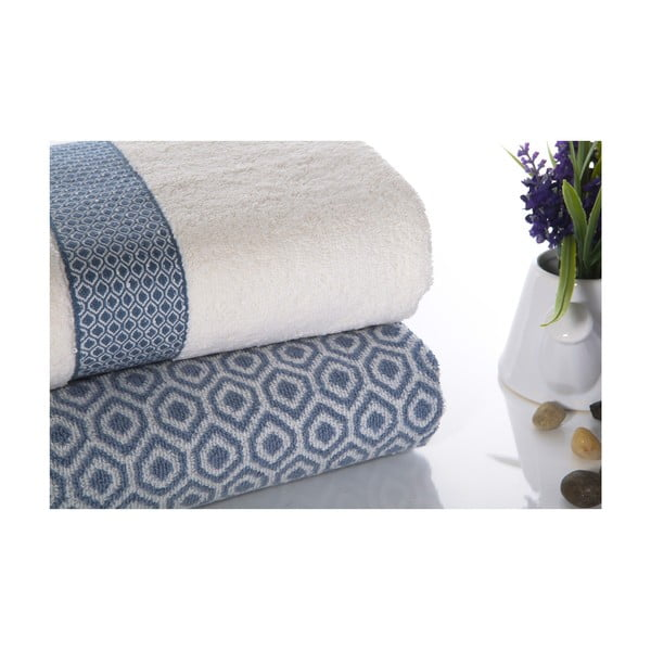 Zestaw 2 ręczników Alice V4, 50x90 cm