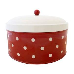 Chlebak w kropki, czerwony