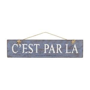Dekoracja naścienna Cest Par La