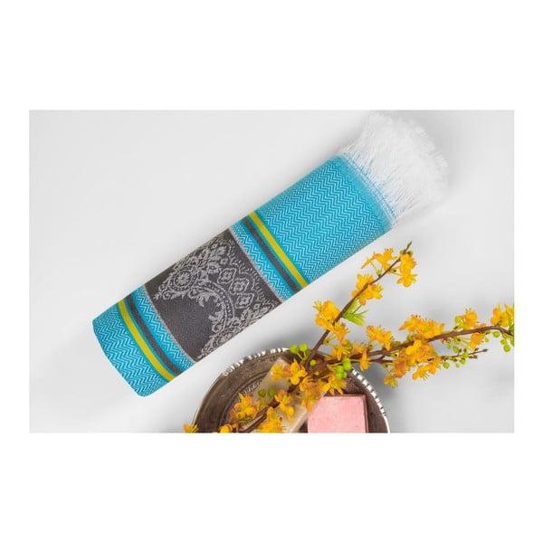 Ręcznik hammam Loincloth Blue, 80x170 cm
