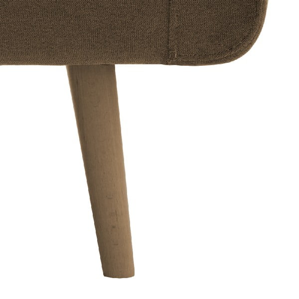 Fotel VIVONITA Sondero Light Brown, naturalne nogi