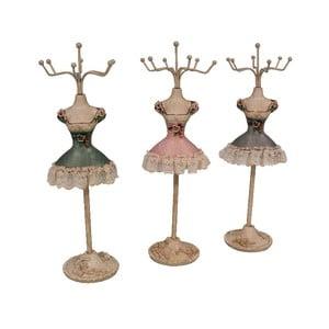 Zestaw 3 stojaków na biżuterię Mannequin
