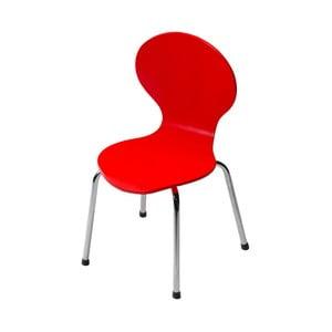 Czerwone krzesło dziecięce DAN-FORM Denmark Child