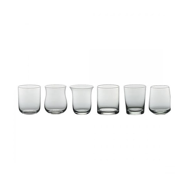 Zestaw 6 szklanek Desigual Transparent