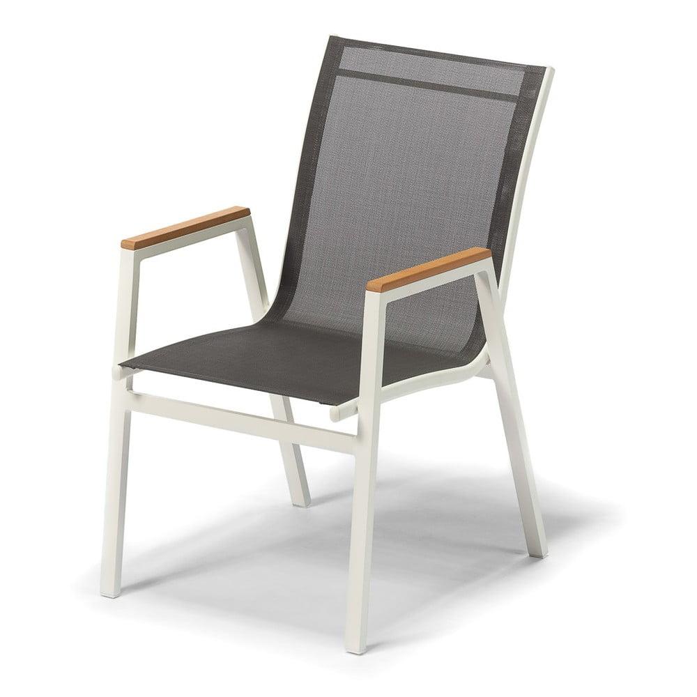 Aluminiowe krzesło ogrodowe Timpana Roma