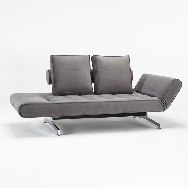 Szara sofa regulowana Innovation Ghia
