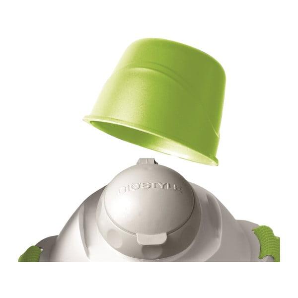 Termos z kubkiem na ramię Ciao! 950 ml, zielony