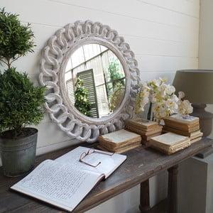 Lustro Mahogany Round Antique
