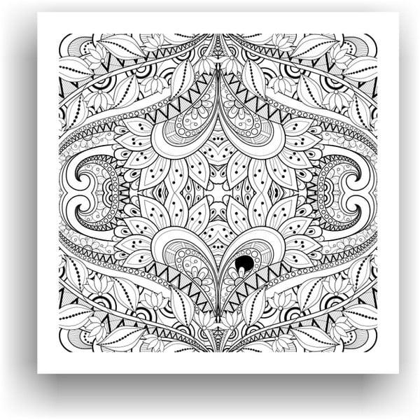 Obraz do kolorowania 67, 50x50 cm