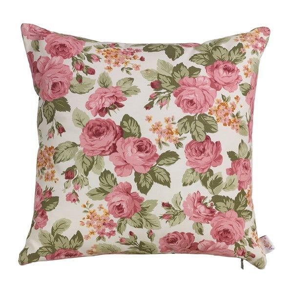 Poduszka z wypełnieniem Flowers in Pink