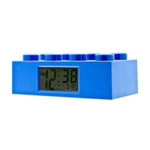 Niebieski zegar z budzikiem LEGO® Brick
