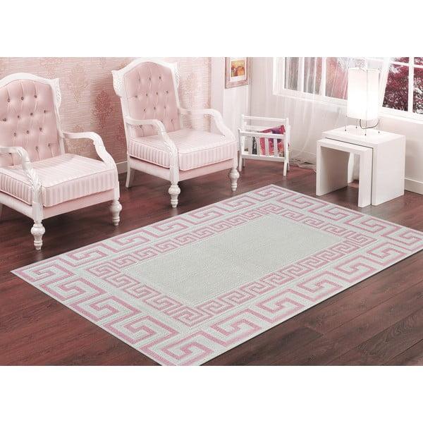 Wytrzymały dywan Versace, 160x230 cm, pudrowy