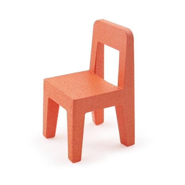 Krzesło dziecięce Seggiolina Pop, pomarańczowe