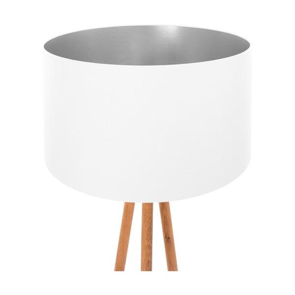 Lampa stojąca White Silver