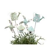Zestaw 6 wiosennych dekoracji na patyku Ego Dekor, 34x10,5 cm