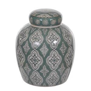 Pojemnik ceramiczny z ornamentami Dino Bianchi, wysokość20cm