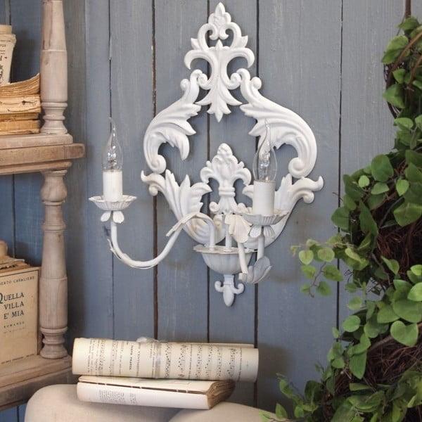 Kinkiet Orchidea Milano Aplique White Duo