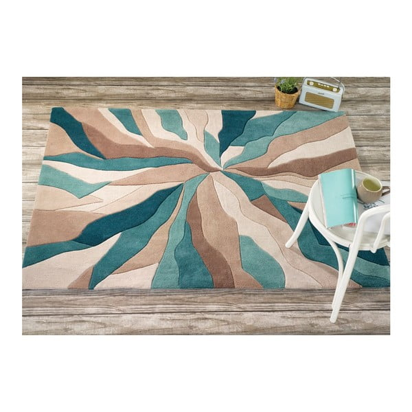 Dywan Flair Rugs Splinter Teal, 160x220 cm