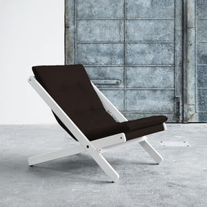 Fotel składany Karup Boogie White/Brown