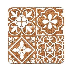 Podkładka korkowa z białym wzorem Ladelle Marocco
