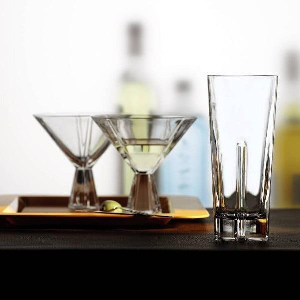 Zestaw 4 szklanek Havanna, 366 ml