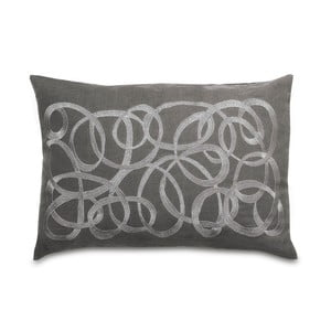 Polštář Waves Grey, 35x50 cm