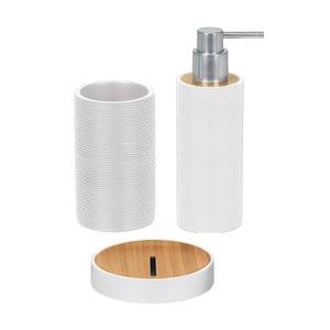 Zestaw akcesoriów łazienkowych Kyoto White