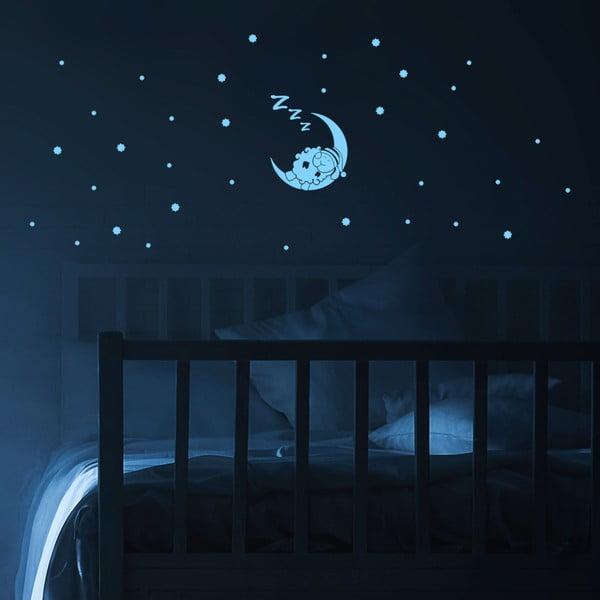 Naklejka świecąca w ciemności Ambiance Sheep