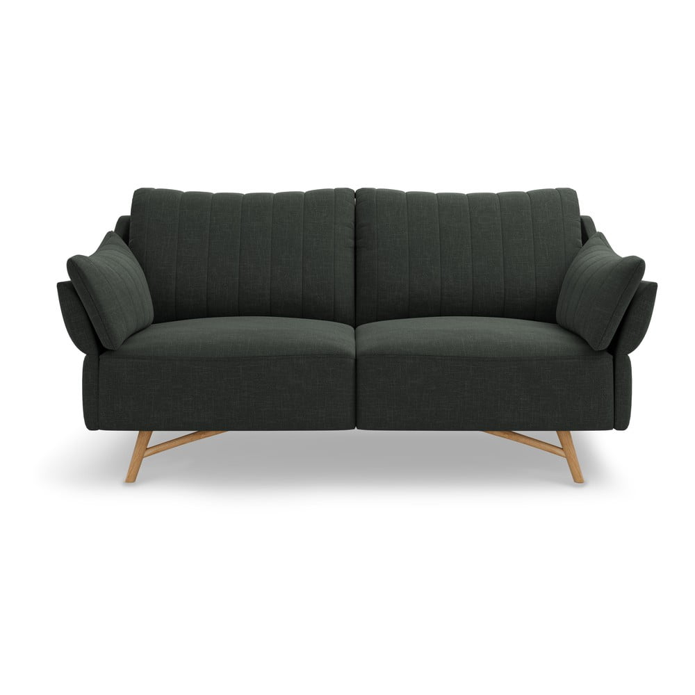 Ciemnoszara sofa Interieurs 86 Elysée, 174 cm