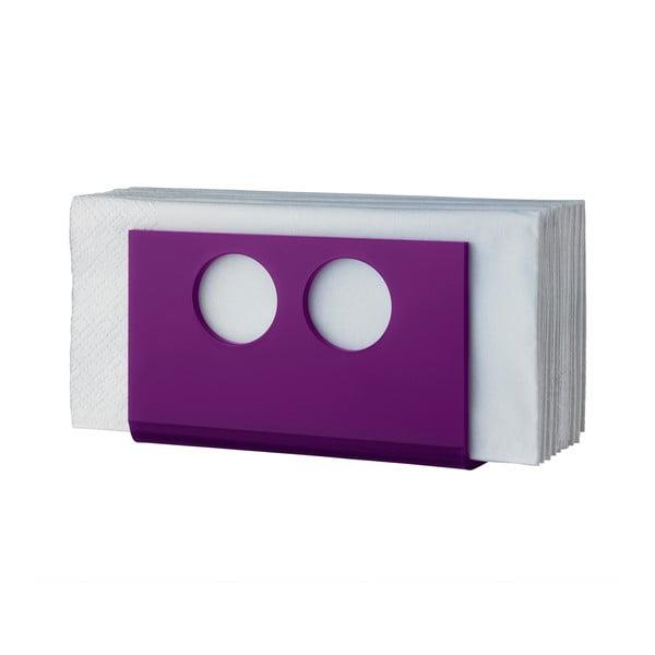 Stojak na serwetki U Purple